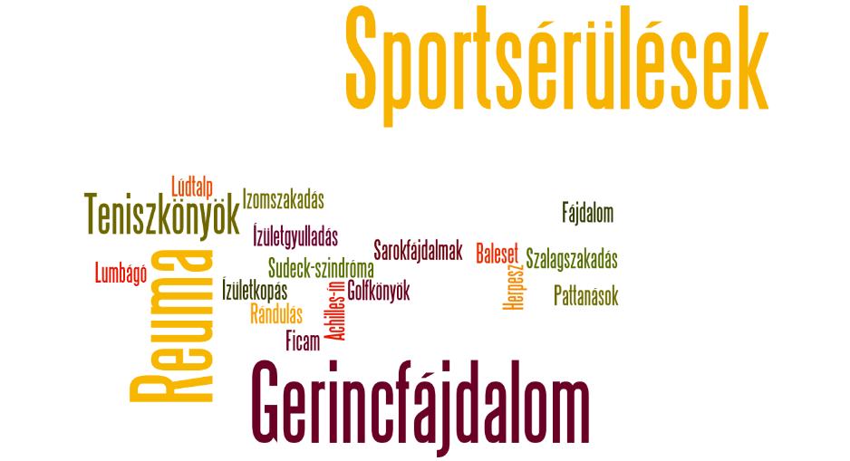 Láhylézerrel kezelhető betegségek: sportsérülés, fagyott váll, teniszkönyök, rotátprköpeny, sarkantyú